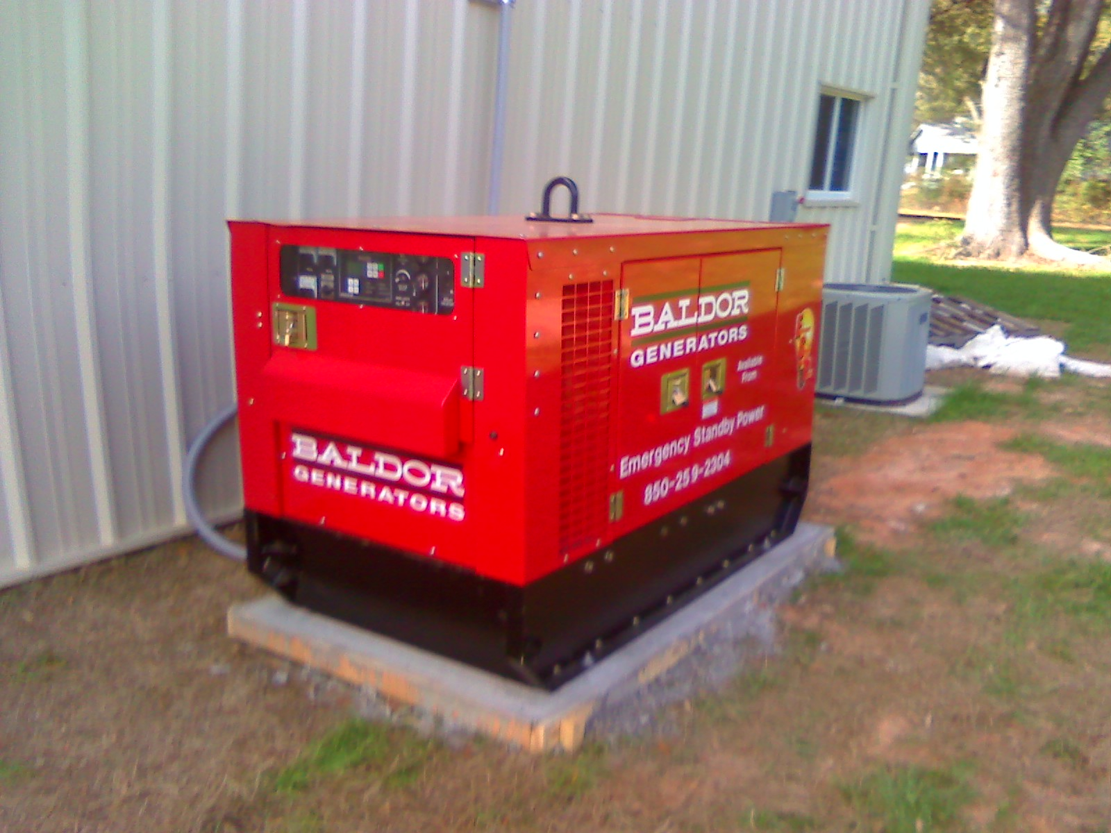 Generators in Fort Walton Beach Florida area